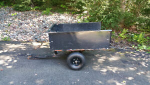Utility Trailer for ride-on mower