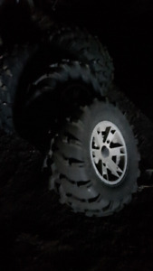 Factory can am tires and rims