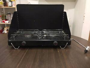 Camping stove (dual burner)