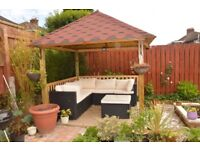 All exterior and interior woodworks; wooden flooring, fences, decking areas