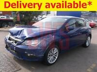 2017 Seat Leon SE Dynamic Technology 1.6 DAMAGED REPAIRABLE SALVAGE