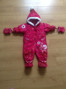 Snow Suit for 9 months