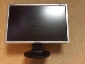 "Samsung 21"" (inch) black monitor model LS19MYNKSB/EDC"