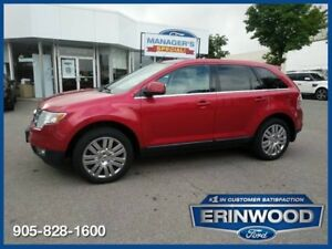 2010 Ford Edge LIMITED AWD/6CYL/LTHR/REV SENS/SYNC