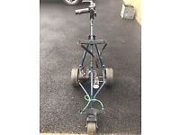 POWACADDY Electric Golf Trolley with Lithium Battery and charger inc.