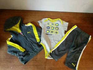 Puma Outfits size 6-9 months