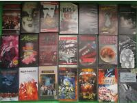HEAVY METAL/PUNK/NEW WAVE/ROCK VHS VIDEOS (Some rare)
