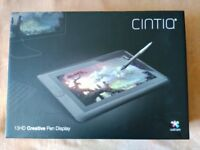 Wacom Cintiq 13HD tablet for illustration and design