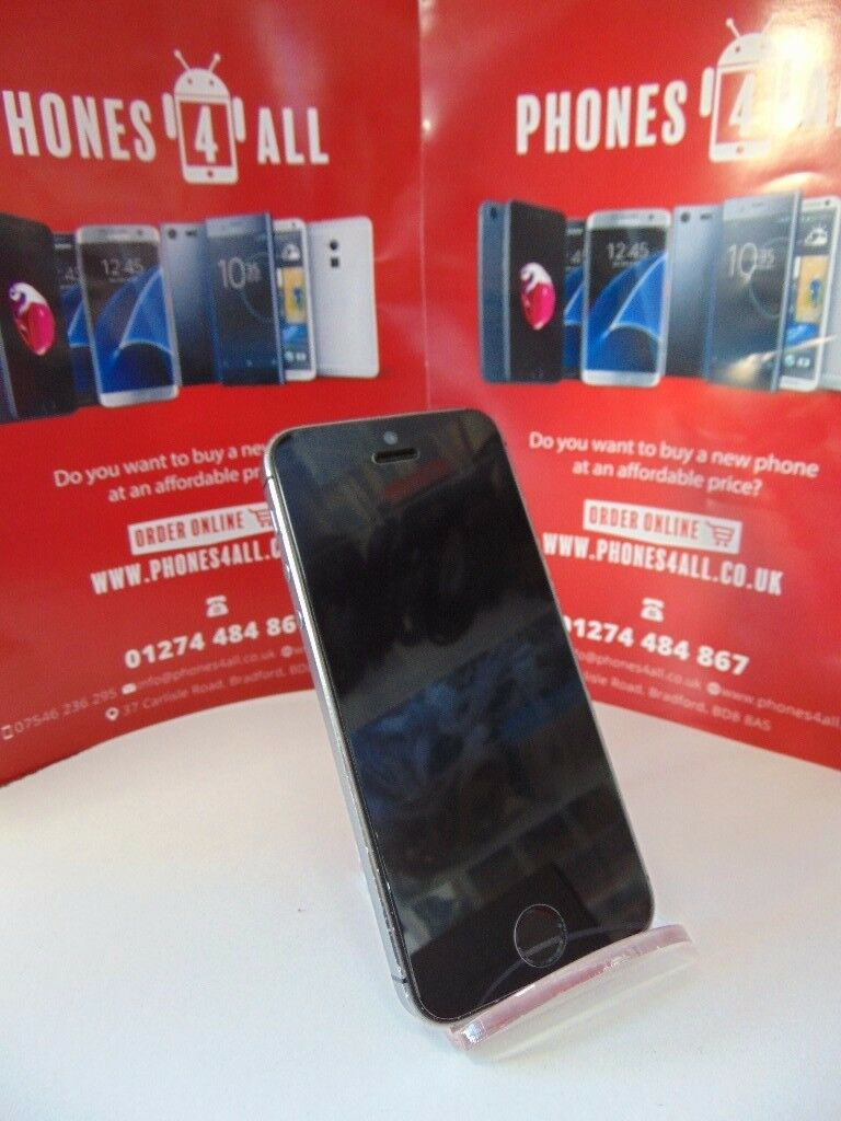 iPhone 5S 32GB Space Grey Unlockedin Bradford, West YorkshireGumtree - iPhone 5S 32GB Space Grey Unlocked Good Condition Many More Phones, Tablets and Laptops In Stock Receipt Provided With Shop Warranty 01274 484867 07546236295 Phones 4 All 37 Carlisle Road BD8 8AS