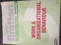 Work & Organizational Behaviour
