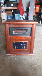 Garrison Wood Cabinet Infared Heater