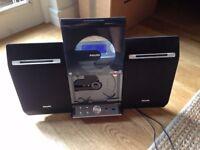 Philips Micro HiFi Music System MCB275 WMA-CD/MP3