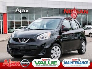 2015 Nissan Micra S*Value Priced*Accident Free