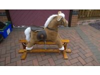 MAMAS AND PAPAS TRADITIONAL ROCKING HORSE - EXCELLENT CONDITION