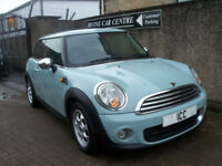11 61 MINI 1.6 16V 3DR ICE BLUE BLUETOOTH CLIMATE TRACTION ALLOYS LOW INSURANCE