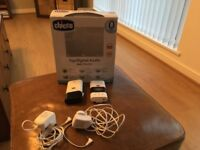 Chicco top digital audio baby monitor