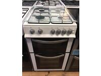 New Ex-Display Montpellier MDG500LW White 50cm Lidded Gas Cooker £249