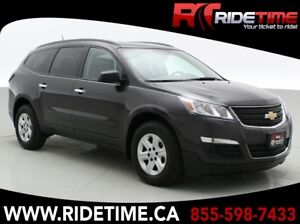 2016 Chevrolet Traverse LS AWD - 8 Passenger, Rear A/C, CD Playe