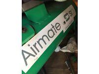 Compressor airmate cirrus 3025 with hoses plus Thomas spray