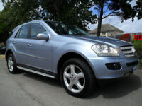 MERCEDES ML280 3.0 TD CDTI AUTO SPORT 2008 COMPLETE WITH M.O.T HPI CLEAR INC