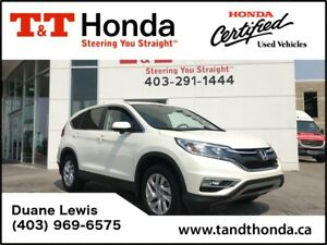 2015 Honda CR-V EX* One Owner, Sunroof, Rear Camera *