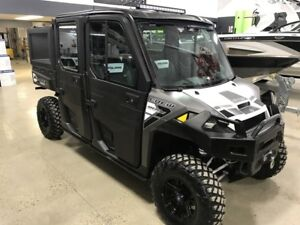 USED 2016 Polaris RANGER Crew XP 900-6 EPS LOADED WITH OPTIONS