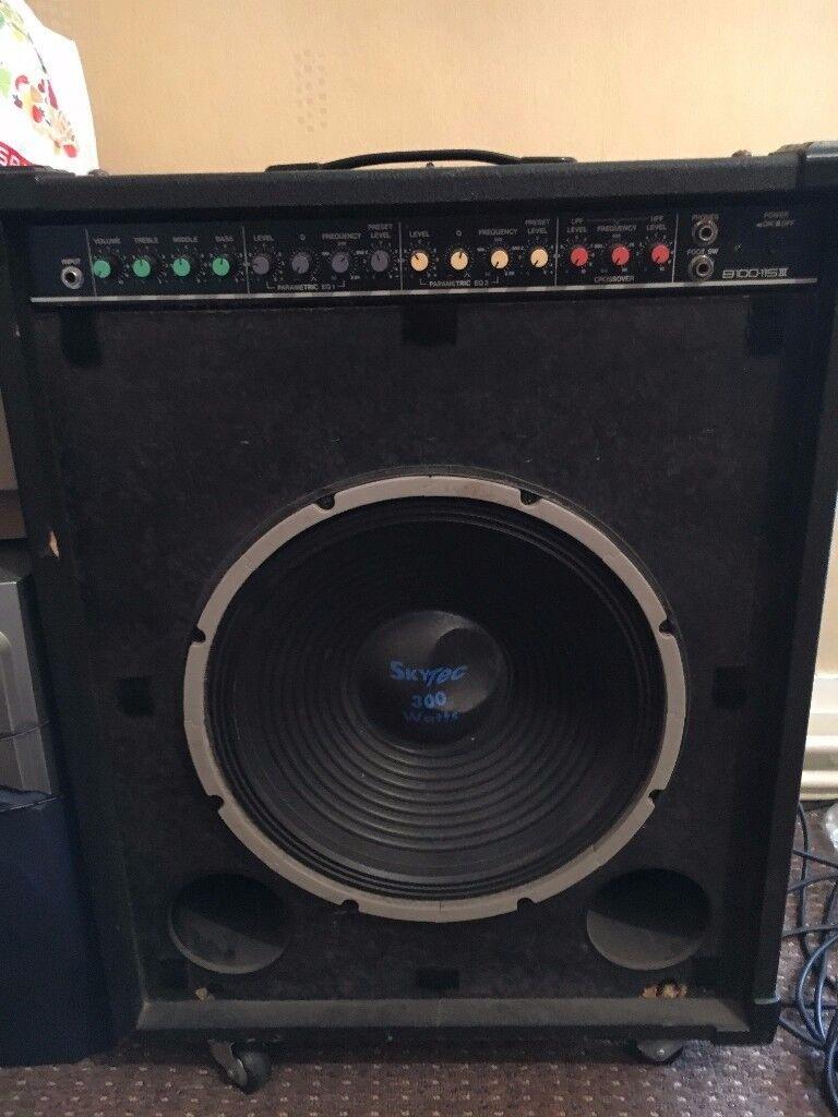 Yamaha b100 115 iii bass amp in matlock derbyshire for Yamaha bass guitar amplifier