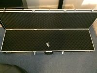"Lockable Hardcase with eggshell foam liners 51""x14""x5"""