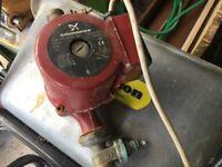 Grundfos heating pump