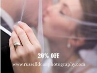 Wedding & Event Photography, 20% OFF all bookings NOW - 07973 498437
