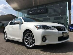2012 Lexus CT 200h Technology Pkg Navi Backup Cam Sunroof