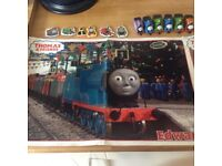 Thomas the tank posters and fridge magnets