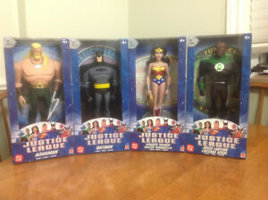 Justice league rare collectable action figures
