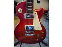 Westfield Les Paul with Flame Cherry Top