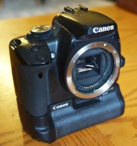 Canon Rebel XTI DSLR, 3 lenses, battery grip. Good starter pkg