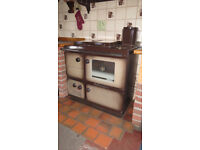 Waterford Stanley Superstar solid fuel central heating boiler/cooker