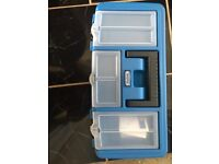 Brand new toolbox with brand new tools inside