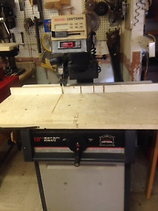 craftsman radial arm saw digital with stand SUTTON QC.