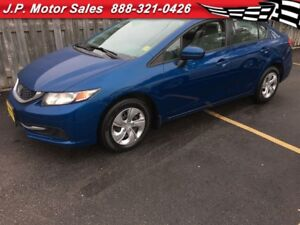 2014 Honda Civic LX, Heated Seats, Bluetooth, Only 50, 000km