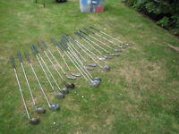 20 wedges and drivers (right hand/used)