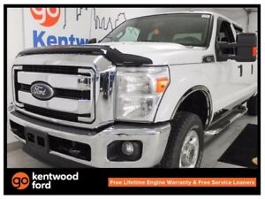 2015 Ford F-250 XLT 6.2L V8 FX4 off-road pkg in beautiful white!
