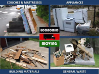 Economic moving and junk hauling