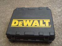 Dewalt drill case ( no tools just case )
