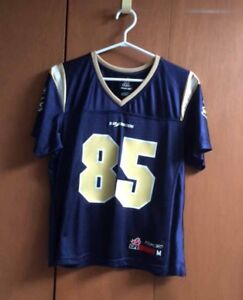 Blue Bomber's jersey  #85