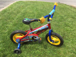 Kids Bike Toy Story Buzz-Woody- Velo Enfant Toy Story Buzz