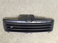 VW POLO BLACK DEBADGED SPORTS BONNET FRONT GRILL FOR 9N 2001 - 2005