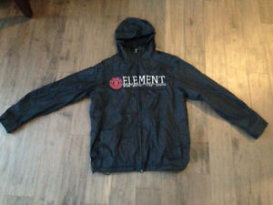 Boys Element Windbreaker Jacket -Size Large