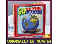 3D Globe Jigsaw.