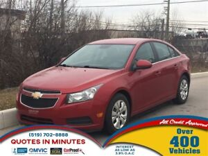 2013 Chevrolet Cruze LT   TURBO   CLEAN   MUST SEE