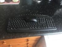 Logik wireless keyboard and mouse